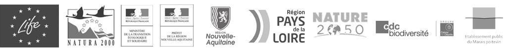 Logo financeurs LIFE baie de l'Aiguillon