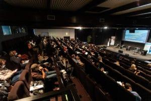 Première journée en salle dans l'amphithéâtre du Forum des Pertuis